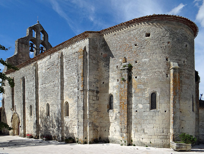 Photo du Monument Historique Eglise Notre-Dame situé à Monteton
