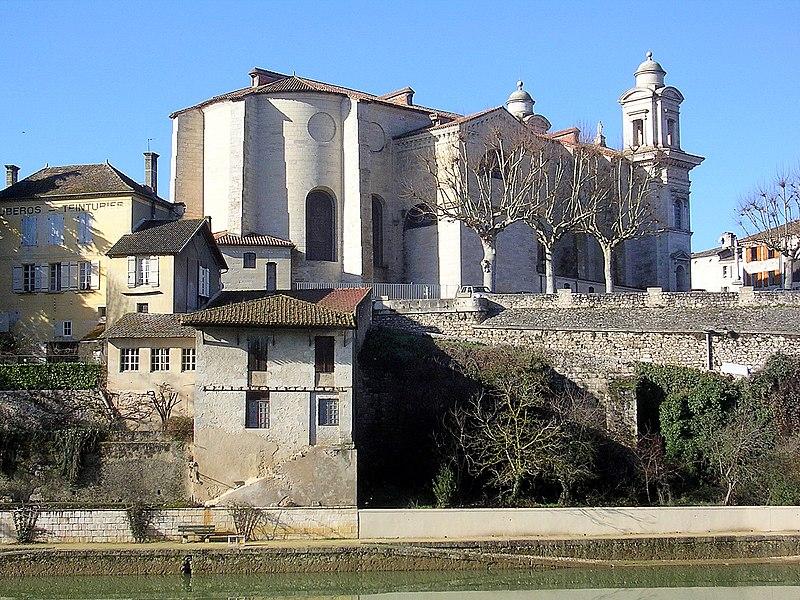 Photo du Monument Historique Eglise Saint-Nicolas situé à Nérac