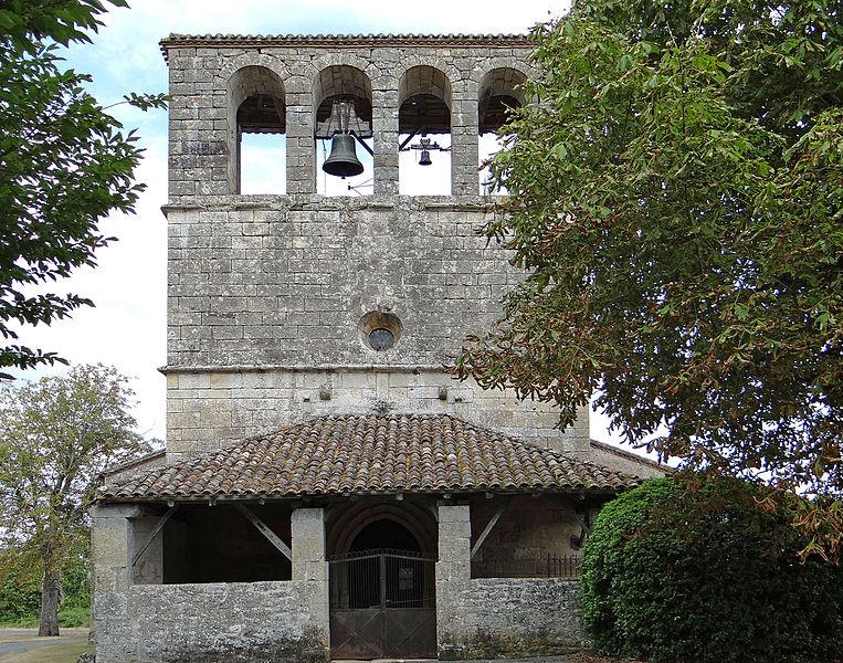 Photo du Monument Historique Eglise de Souliès situé à Paulhiac