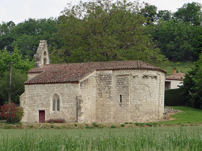 Photo du Monument Historique Ancienne église Sainte-Foy-de-Jérusalem situé à Pont-du-Casse