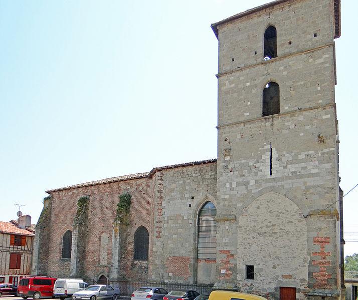 Photo du Monument Historique Ancienne église du Temple situé à Port-Sainte-Marie