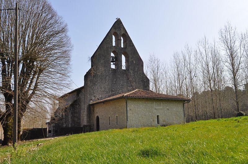 Photo du Monument Historique Eglise Saint-Martin situé à Poussignac