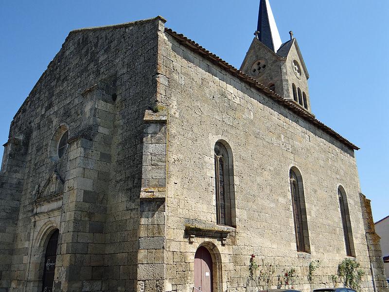 Photo du Monument Historique Eglise Saint-Jean situé à Prayssas