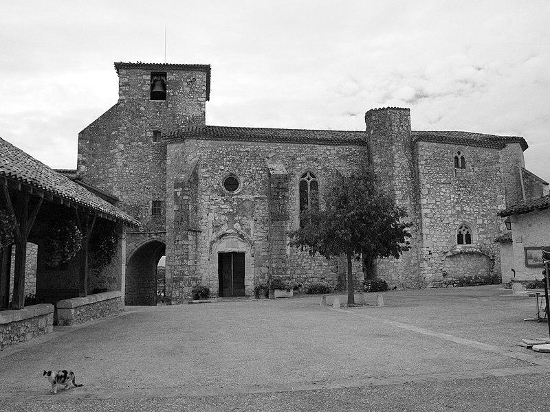 Photo du Monument Historique Eglise Saint-Nicolas situé à Pujols