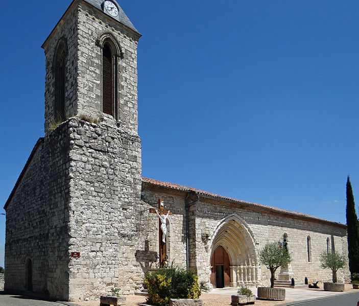 Photo du Monument Historique Eglise Notre-Dame du Grand-Castel situé à Puymirol