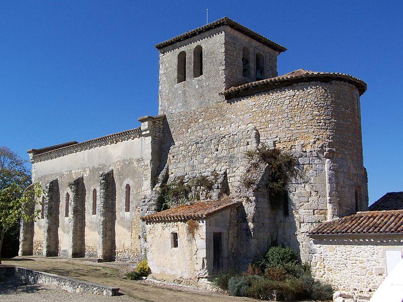 Photo du Monument Historique Eglise Saint-Christophe situé à Romestaing