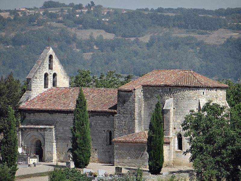 Photo du Monument Historique Eglise Saint-Martin de Mourrens situé à Sainte-Colombe-en-Bruilhois