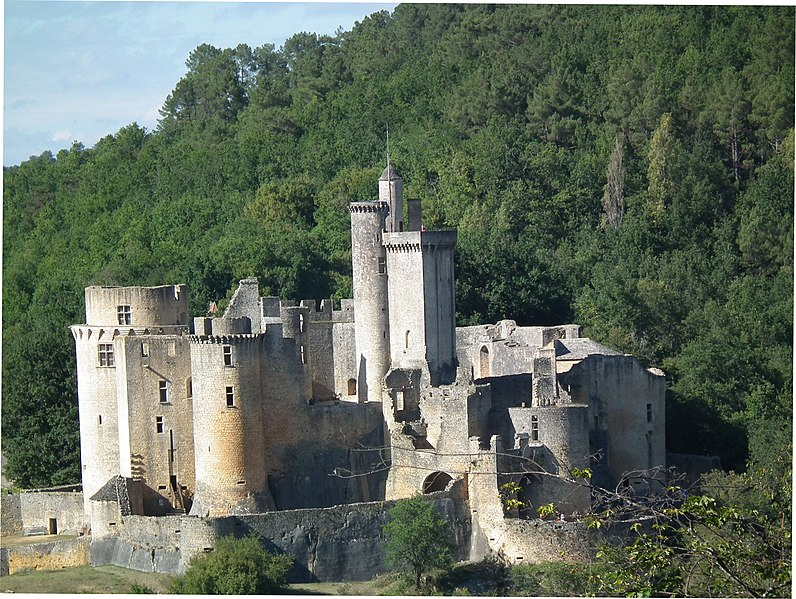 Photo du Monument Historique Château de Bonaguil situé à Saint-Front-sur-Lémance