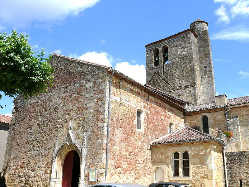 Photo du Monument Historique Restes de l'église Saint-Front situé à Saint-Front-sur-Lémance