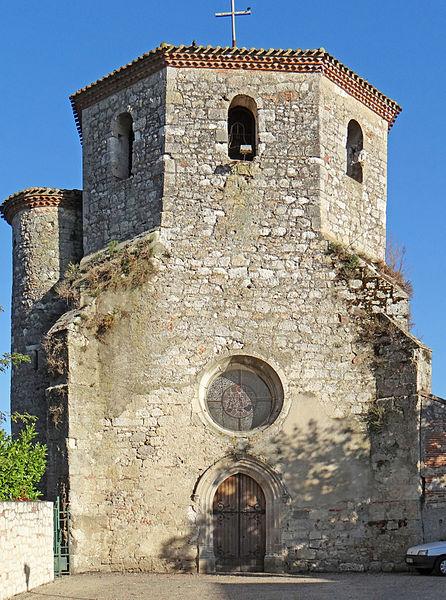 Photo du Monument Historique Eglise de Saint-Hilaire situé à Saint-Hilaire-de-Lusignan