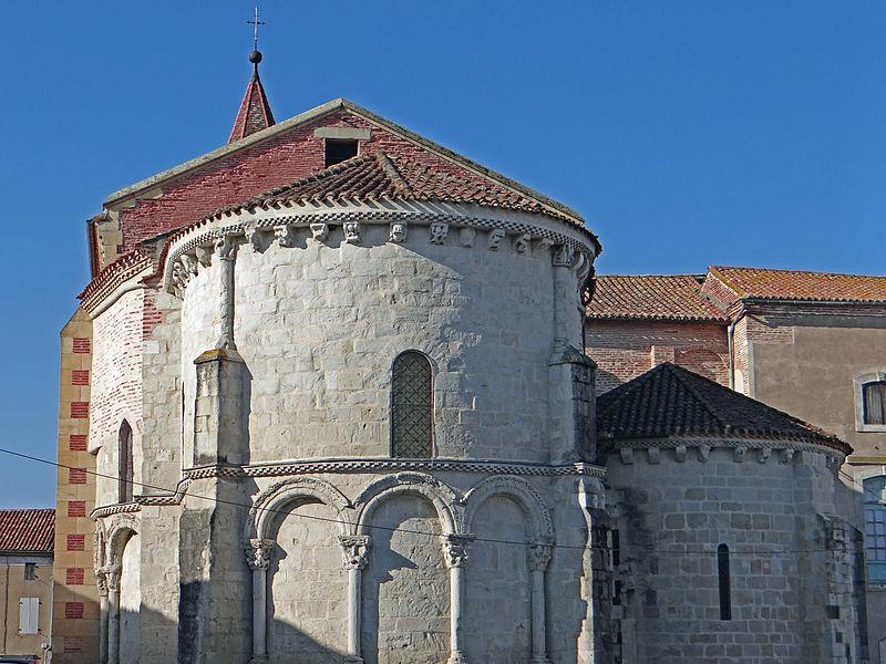 Photo du Monument Historique Eglise Sainte-Livrade situé à Sainte-Livrade-sur-Lot