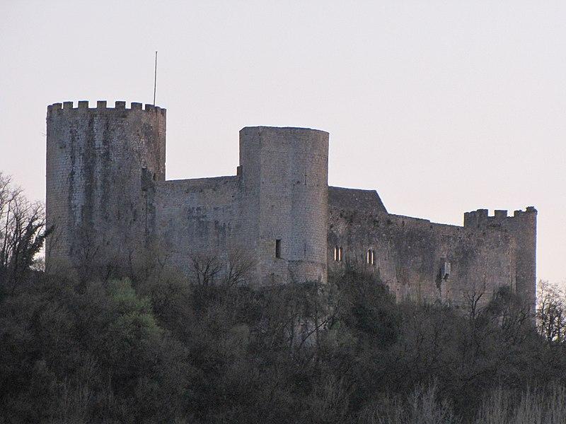 Photo du Monument Historique Château de Sauveterre situé à Sauveterre-la-Lémance
