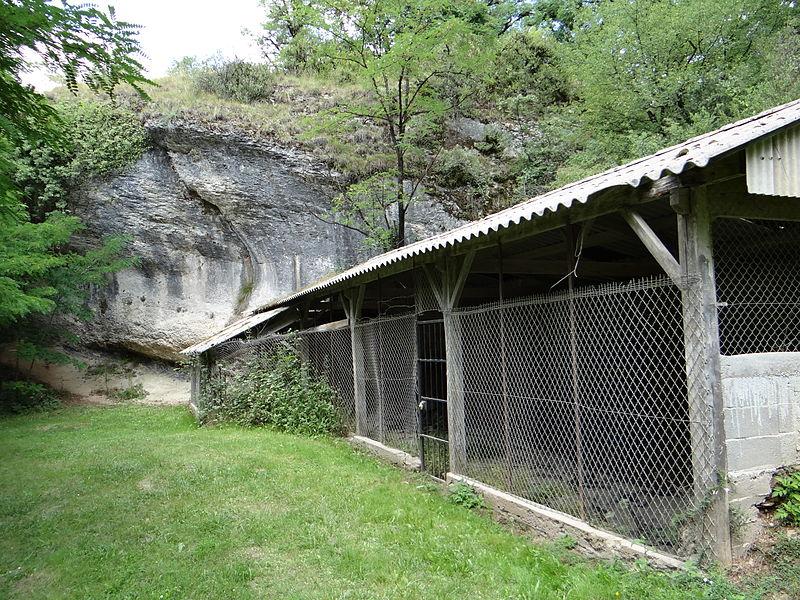 Photo du Monument Historique Gisement préhistorique du Martinet situé à Sauveterre-la-Lémance