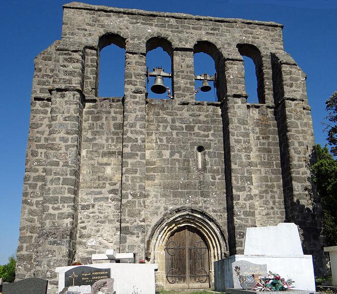 Photo du Monument Historique Eglise Saint-Pierre situé à Tourtrès