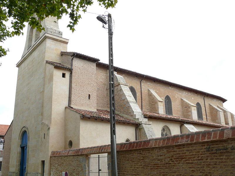 Photo du Monument Historique Eglise Saint-Etienne situé à Villeneuve-sur-Lot