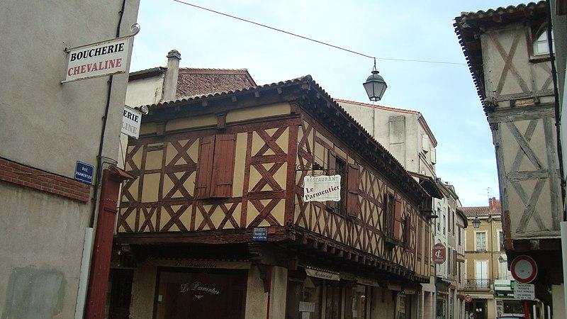 Photo du Monument Historique Maison dite L'ancienne Viguerie situé à Villeneuve-sur-Lot