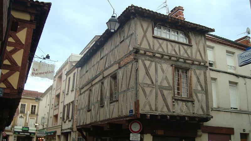 Photo du Monument Historique Maison situé à Villeneuve-sur-Lot