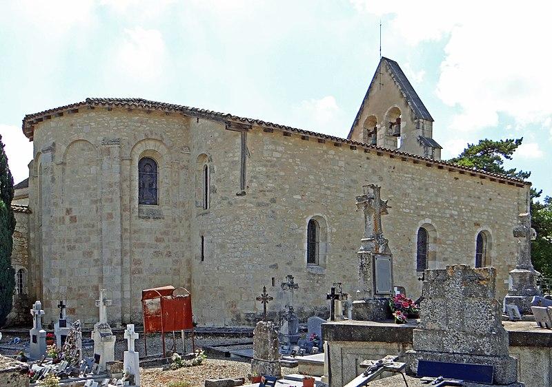 Photo du Monument Historique Eglise Saint-Pierre es Liens situé à Rives