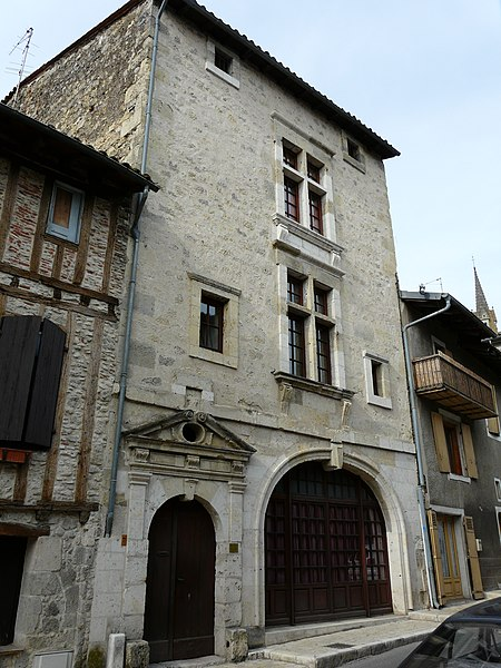 Photo du Monument Historique Maison dite de Sully situé à Nérac