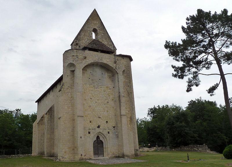 Photo du Monument Historique Eglise Saint-Clair de Gouts ou Goux situé à Allons