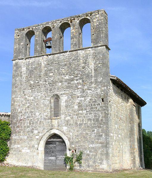 Photo du Monument Historique Eglise Saint-Pierre situé à Laussou