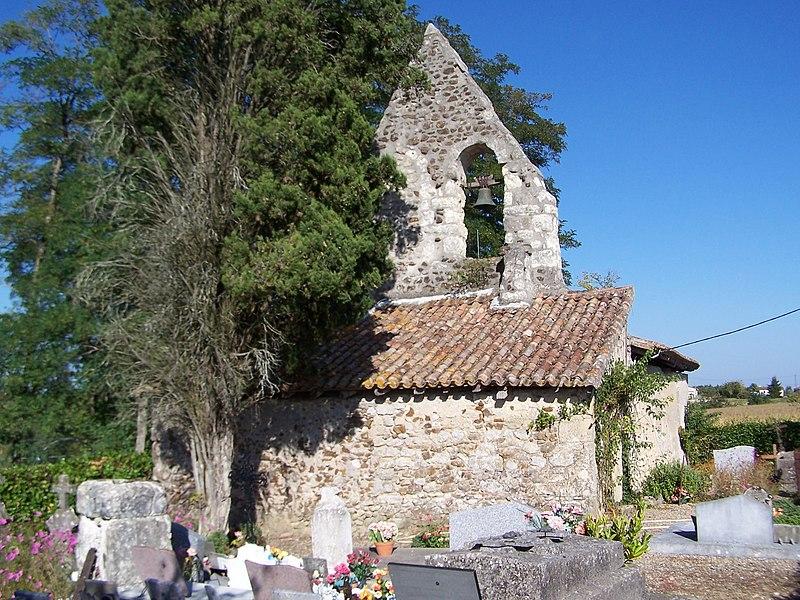 Photo du Monument Historique Eglise Notre-Dame de Fontet situé à Guérin