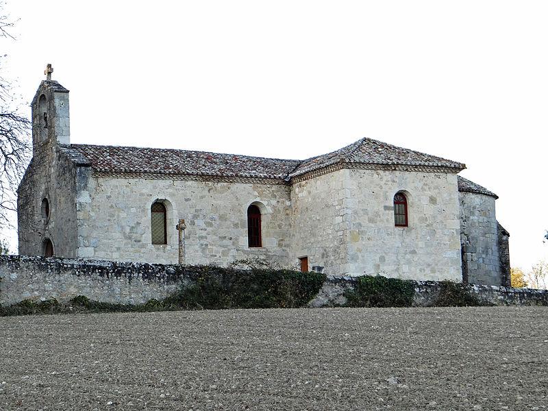 Photo du Monument Historique Eglise Saint-Pierre de Quissac situé à Laugnac