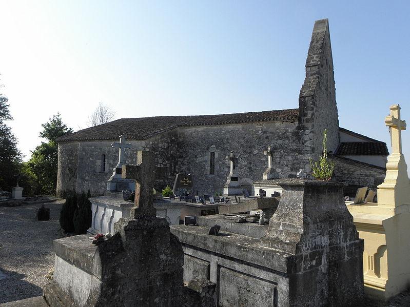 Photo du Monument Historique Eglise Saint-Martin de Calviac situé à Monflanquin