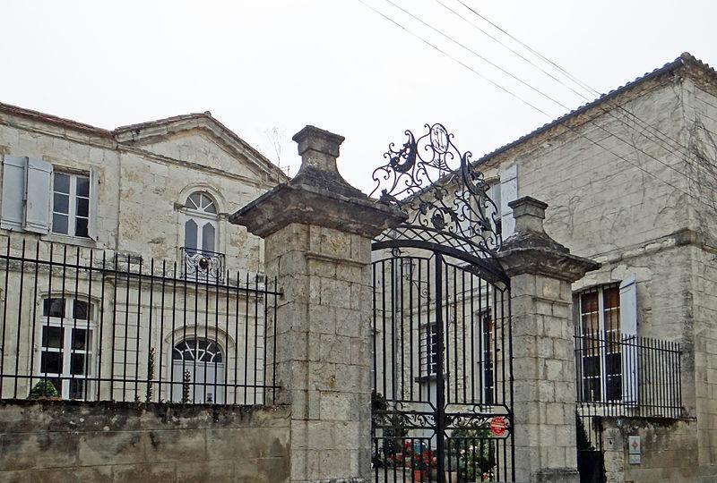 Photo du Monument Historique Hôtel de Cours de Thomazeau situé à Castillonnès