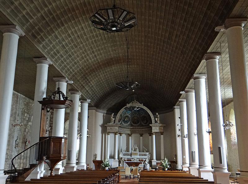 Photo du Monument Historique Eglise Saint-Pierre-ès-Liens situé à Clairac