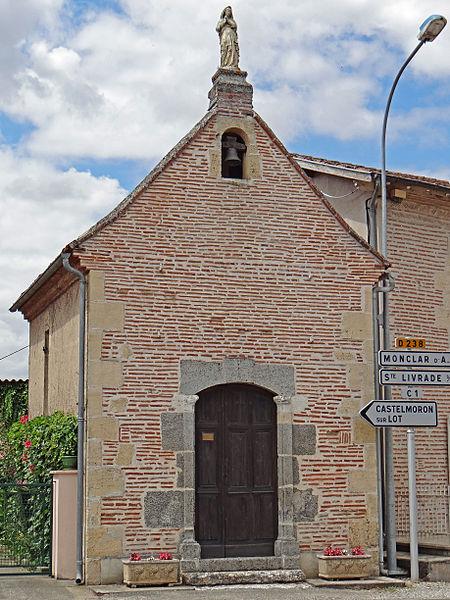 Photo du Monument Historique Chapelle Notre-Dame de Tout Pouvoir situé à Fongrave