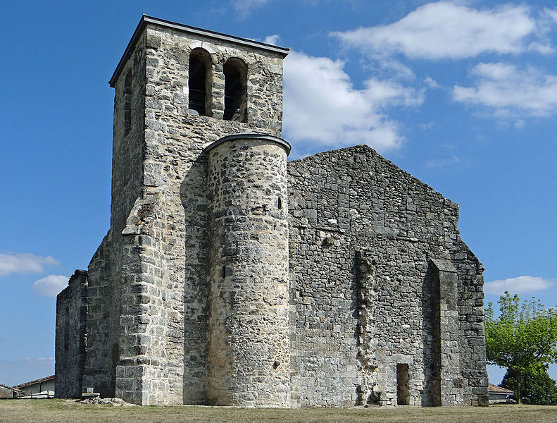 Photo du Monument Historique Ancienne église de Saint-Gayrand situé à Grateloup-Saint-Gayrand