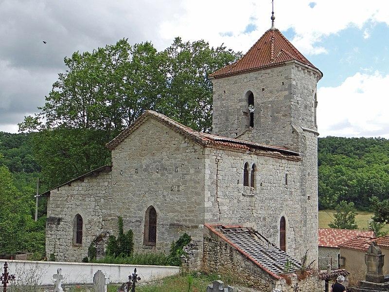 Photo du Monument Historique Eglise Saint-Just situé à Hautefage-la-Tour