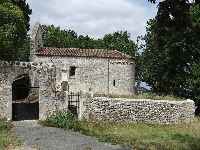 Photo du Monument Historique Eglise Saint-Thomas situé à Hautefage-la-Tour