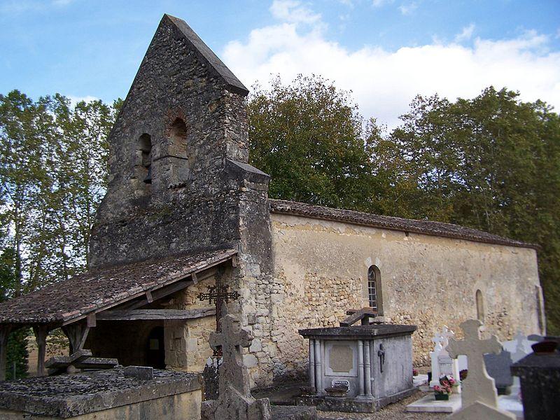 Photo du Monument Historique Eglise Saint-Barthélémy de Tersac situé à Meilhan-sur-Garonne