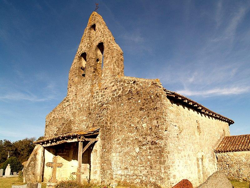 Photo du Monument Historique Eglise Saint-Pierre-de-la-Croix situé à Montastruc