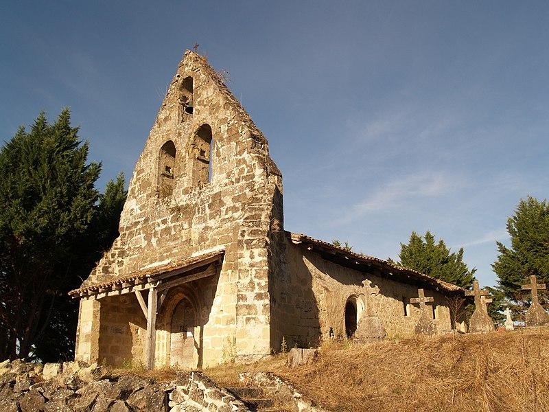 Photo du Monument Historique Eglise Saint-Pierre de Cabannes situé à Montastruc