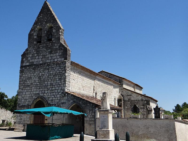 Photo du Monument Historique Eglise Saint-Amand situé à Tayrac