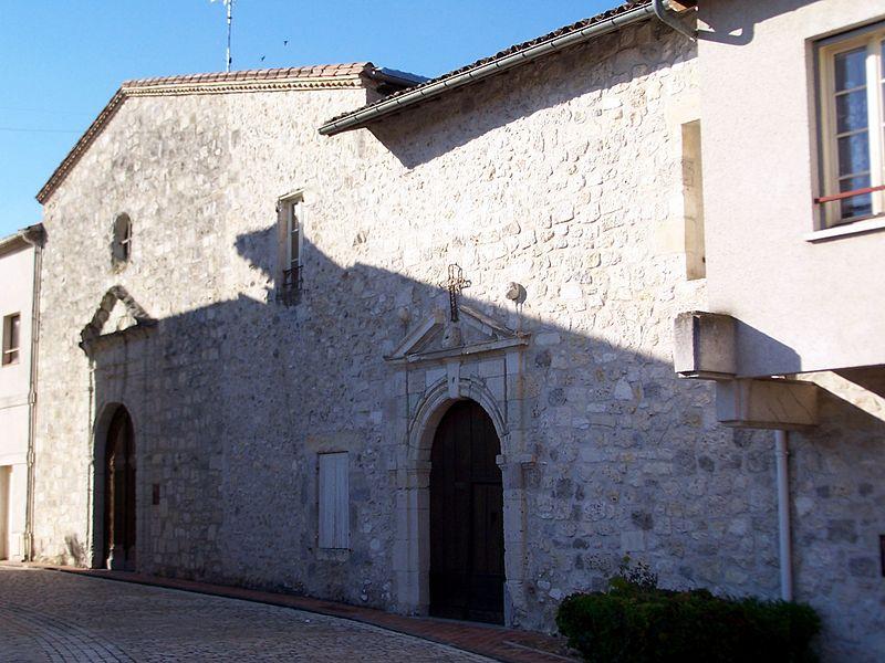 Photo du Monument Historique Ancien couvent des Cordeliers situé à Casteljaloux