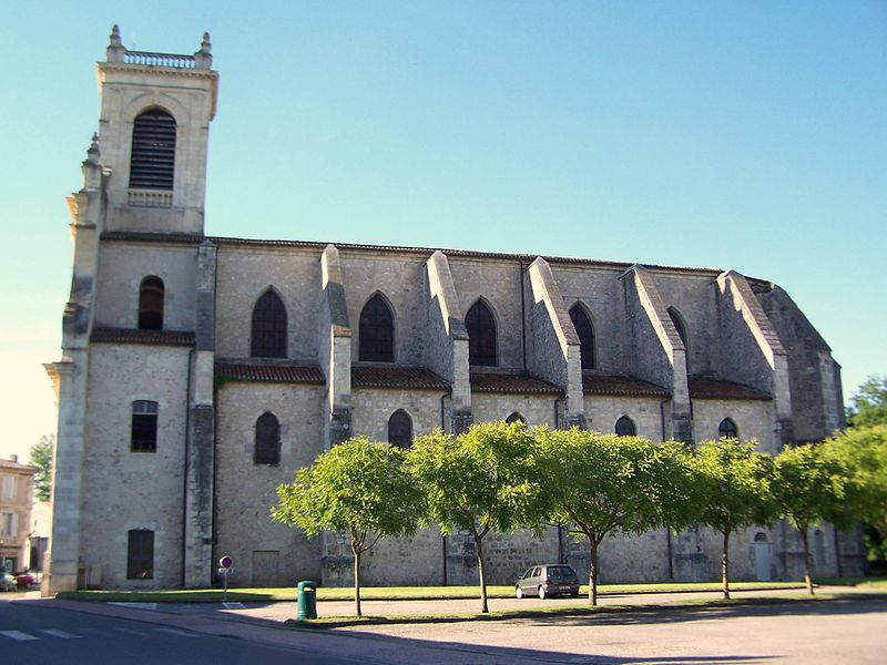 Photo du Monument Historique Eglise Notre-Dame de l'Assomption situé à Casteljaloux