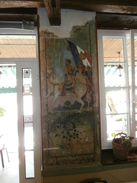 Photo du Monument Historique Café-restaurant de la Paix situé à Bruch