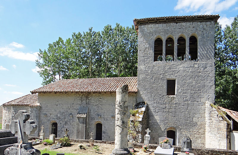 Photo du Monument Historique Eglise Sainte-Eulalie situé à Cauzac