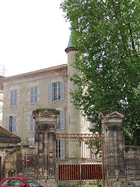 Photo du Monument Historique Ancien hôtel particulier dit hôtel de Sevin situé à Agen