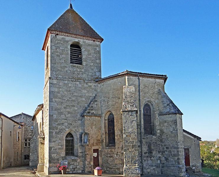 Photo du Monument Historique Eglise Notre-Dame situé à Lusignan-Petit