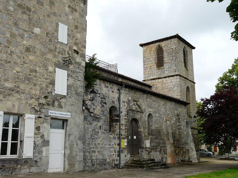 Photo du Monument Historique Ancien établissement templier de Puy Fort Eguille situé à Nérac