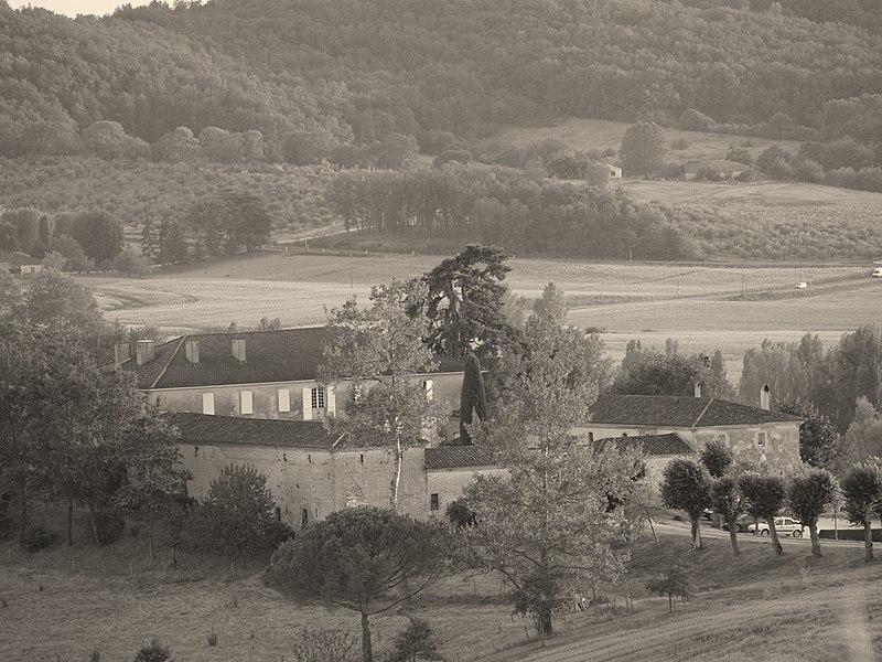 Photo du Monument Historique Château du Rodier situé à Monclar