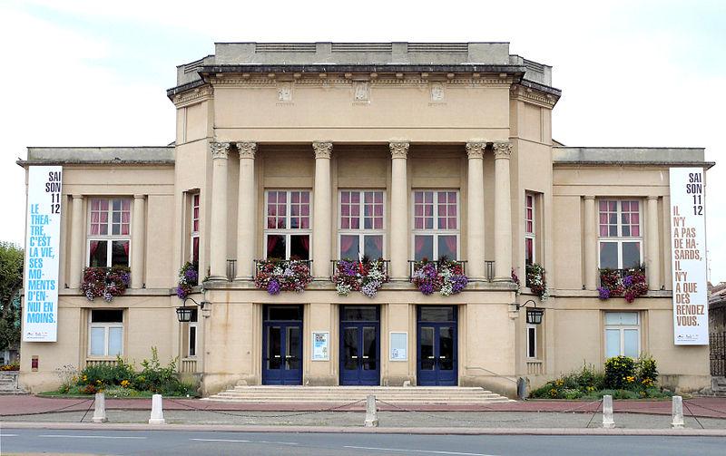 Photo du Monument Historique Théâtre municipal Georges Leygues situé à Villeneuve-sur-Lot