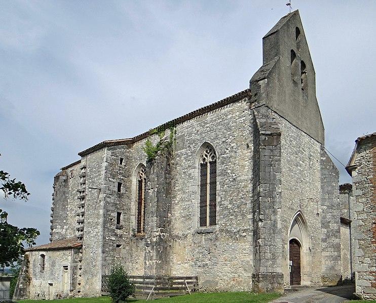 Photo du Monument Historique Eglise Saint-Martin situé à Cahuzac