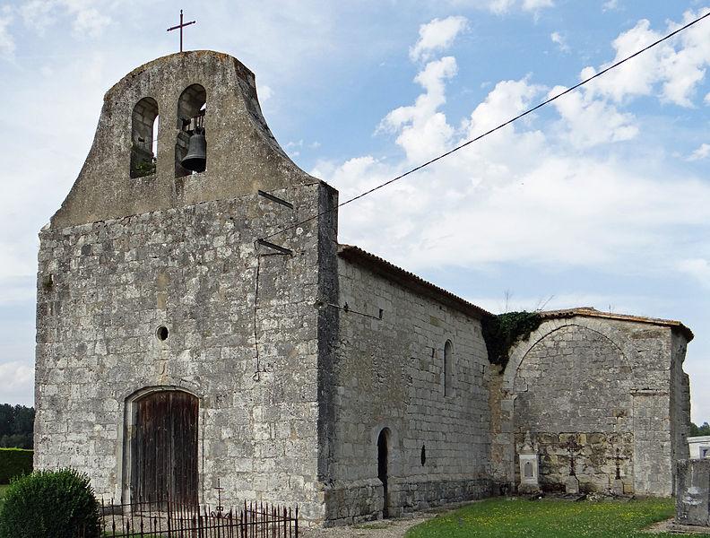 Photo du Monument Historique Eglise Saint-Pastour, dite de Queyssel situé à Lauzun