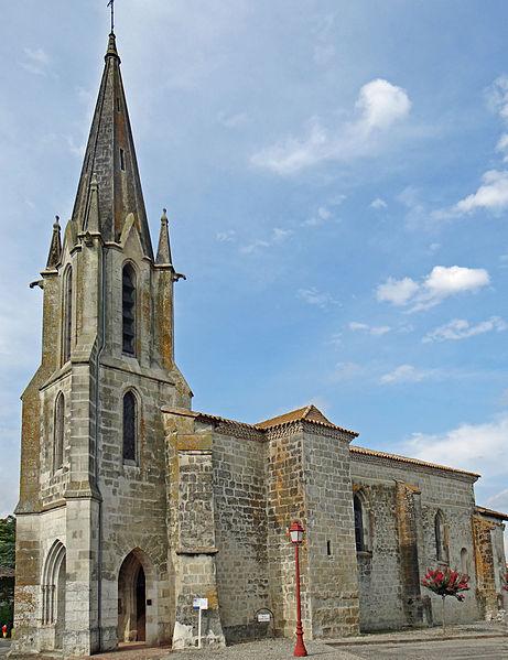 Photo du Monument Historique Eglise Notre-Dame situé à Bourgougnague